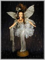 """Silver Fairy"" A Custom Doll by GoldenGirl"
